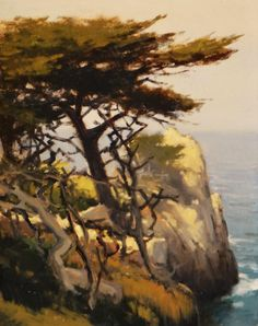 "Brian Blood - ""Hanging Cypress, Pt. Lobos"""
