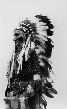 Native American Chief by umarchives