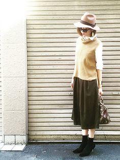 もっとレディに大人っぽく、4つのガウチョパンツで始める秋ファッション|MERY [メリー]