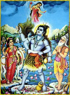 """shivaom: """" ✨ OM NAMAH SHIVAYA ✨ """"When King Bhagiratha approached Lord Shiva and requested him to sustain the forceful waves of the Ganges, Lord Shiva accepted the proposal by saying, """"Let it be so."""" Then, with great attention, he sustained the Ganges..."""