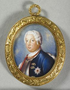 John Simpson - Frederick William I, King of Prussia Friedrich Wilhelm I, Frederick William, King Of Prussia, The Royal Collection, Red Paint, My King, Miniatures, Canvas, Miniature