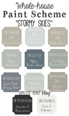 Best Neutral Paint Color Palettes for Your Entire House gray neutral color scheme - Gray Things Best Neutral Paint Colors, Interior Paint Colors, Paint Colors For Home, House Colors, Interior Design, House Color Schemes Interior, Top Paint Colors, Interior Decorating, Interior Shop