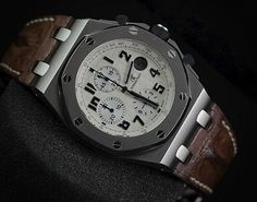 """Audemars Piguet RoyalOakOffshore """"SAFARI"""" 'F' (PREOWNED - ORIGINAL)   WE ARE BASED AT JAKARTA please contact us for any inquiry : whatsapp : +6285723925777 blackberry pin : 2bf5e6b9   #WATCH #WATCHES #FORSALE #WATCHFORSALE"""