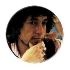 ONLY ONE Bob Dylan 2-1/4 Inch Button