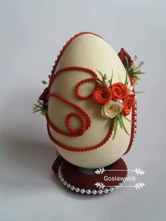 Egg Designs, Flower Designs, Easter Bunny Colouring, Fabric Ornaments, Fancy Cookies, Faberge Eggs, Egg Art, Vintage Easter, Easter Crafts
