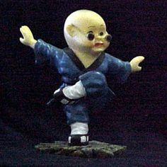 Buddha Boy in Kung Fu Attack Stance  $12.99