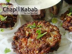 """Try out this Chapli Kabab Recipe by Chef Sara Riaz in cooking show """"Tonight's Menu"""" on ARY Zauq."""