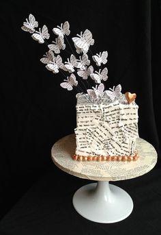 Pen pals cake