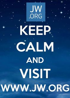 Keep Calm and Visit www.jw.org Official Website