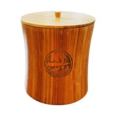 New York Islanders Bamboo Ice Bucket, Brown