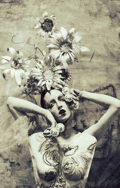 Deja Vu by Sayaka Maruyama for Faint Magazine http://www.designscene.net/2011/04/deja-vu-sayaka-maruyama-faint-magazine.html