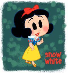 Snow White (Chibis by David Gilson)