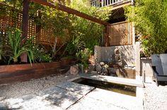 Urban garden spaces www.austinwindowfashions.com