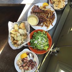 Travelled to Greece with @ranaipeker this lunch at Kiki's  Can't wait for summer  by ediblemoments