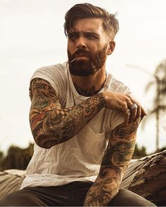 Levi Stocke being dapper - full thick beard and mustache beards bearded man men mens' style suit dressy hair hairstyle model handsome Best Undercut Hairstyles, Undercut Men, Undercut Styles, Hairstyles Haircuts, Pomade Hairstyle Men, Hipster Hairstyles Men, Hipster Haircut, Mens Hairstyles With Beard, Hipster Beard