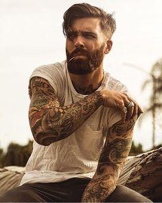 #beard #tats
