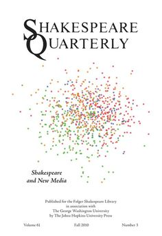 Shakespeare Quarterly, the leading journal of Shakespeare studies. #ShakespeareQuarterly https://www.press.jhu.edu/journals/shakespeare_quarterly/