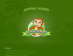"""Check out new work on my @Behance portfolio: """"Jumping Monkey Game UI"""" http://be.net/gallery/33983652/Jumping-Monkey-Game-UI"""