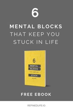 FREE EBOOK! The Only Limit Is Your Mind! Overcome Your Mental Blocks And Finally Live The Life Of Your Dreams! Click through to download for free  #mentalblocks #limitingbeliefs #ebook #freebie #free #mindset #entrepreneur #mind #brain Stuck In Life, The Life, Free Ebooks, Mindset, Dreaming Of You, Hold On, I Am Awesome, Brain, Entrepreneur