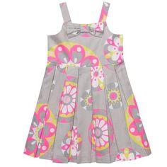 Print Sateen Dress   Toddler Girl Dresses