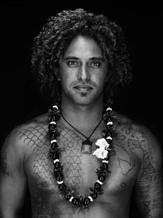 Kealii Mamala, 32, Sunset Beach, Hawaii. Big-wave surfer