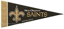 """The New Orleans Saints 9"""" (SMALL) pennant officially licensed NFL flag team logo"""