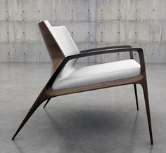 David Barron Furniture: Beautiful Chair from Australia .via Studio J. Contemporary Furniture, Cool Furniture, Furniture Design, Contemporary Armchair, Furniture Cleaning, Danish Furniture, Furniture Dolly, Modern Armchair, Furniture Outlet