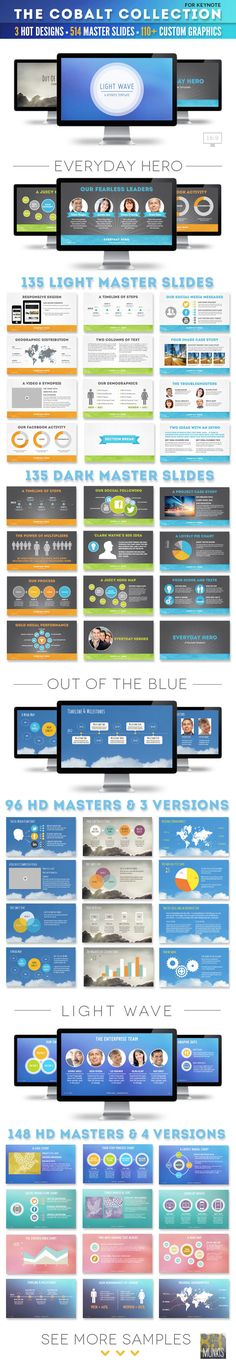The Cobalt Collection of 3 Keynote Template #keynote #keynotetemplate Download: http://graphicriver.net/item/the-cobalt-collection-of-3-keynote-templates-/5328723?ref=ksioks