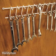 Clever Tool Storage Ideas - Article | The Family Handyman
