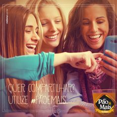 Utilize a hasgtag #PãoeMais nas mídias sociais e compartilhe os seus momentos com a gente!
