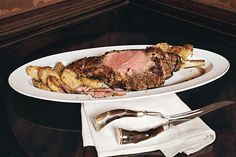 Roasted Leg of Lamb with Yukon Gold Potatoes recipe