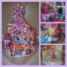 diy birthday gift baskets for mom