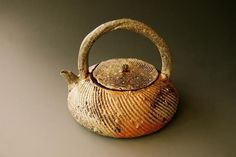 woodfired 27 ( tea pot ) 5.5 x 6 x 6 inches