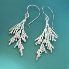 Juniper Earrings - Sterling Silver - by esdesigns on Etsy