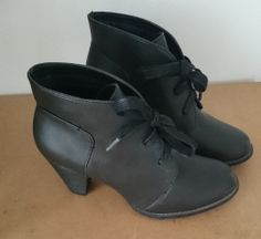 Dark brown ankle boots, Forever 21