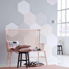 Einrichten mit geometrischen Mustern