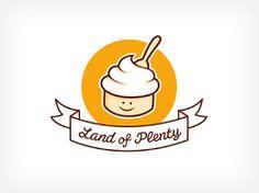 ผลการค้นหารูปภาพสำหรับ ice cream logo design