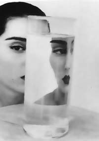 David Seidner - Rosima with Vase, 1984.