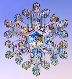 Snowflake Slideshow- Nature's symmetry. Absolutely stunning.
