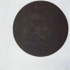 Black Circle - Kazimir Malevich, 1923. @designerwallace