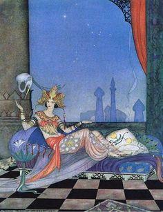 çizgili masallar: The Arabian Nights by Virginia Frances Sterrett