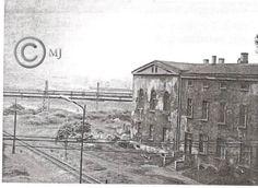 Widok na budynek przy ulicy Konopnickiej na Georshutte.Lata 60 XX wieku.( fot.ze zbiorów Henryka Nikisza)