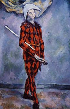 Harlequin - Paul Cezanne - Hand-Painted Art Reproduction