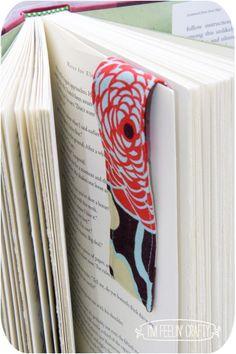 Magnetic Bookmark DIY