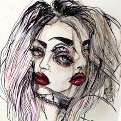 kurt cobain's artwork - Google Search