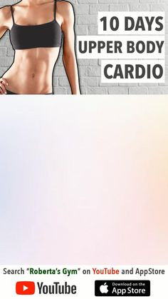 Youtube Workout Videos, Gym Workout Videos, Gym Workout For Beginners, 5 Day Workout Plan, Upper Body Cardio, Pinterest Workout, Flexibility Workout, Sport, Watch
