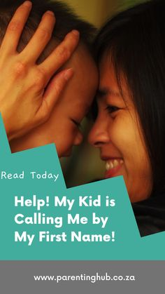 This is a common problem; your older child or teenager comes home one day and starts calling you by your first name and not mom or dad. It's my guess that this starts when your child hears another child do the same to their parent.