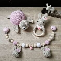 Dear Ones, I haven't been around for a long time … – Baby Supplies Crochet Baby Toys, Baby Knitting, Baby Gift Sets, Baby Gifts, Baby Barn, Kit Bebe, Newborn Toys, Dummy Clips, Baby Rattle