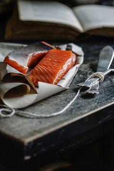 Salmon. #foodphotography #salmon #raw #rustic #photography #food