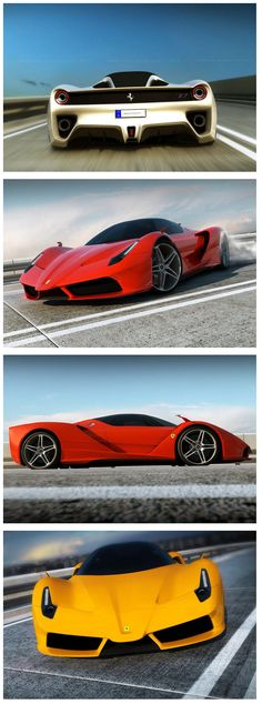 The Ferrari F70 is currently set to debut by the end of this year. Although the official vehicle has yet to be debuted, Sydney based artist David Williams presents these incredible renderings of his own interpretation of the F70. Ferrari has already revealed that the official F70 will be packed with a mid mounted, rear wheel drive 7.3 liter naturally aspirated V12 pumping out 800 horsepower paired with a pair 120 horsepower electric motors.